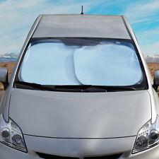 2x Large Car Windshield Auto Sun Shade Cover - Reflective Heat UV Ray Protection