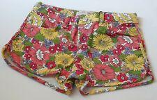 Zara Girls Kinder Shorts für Mädchen Blumen Summer Gr 116 128 152 164 UVP 18,95€
