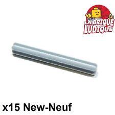 Lego Technic- 15x Axe Axle 5 gris clair/light bluish gray 32073 NEUF