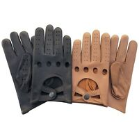 Prime New Mens Driving Gloves Premium Quality Genuine Soft Cow Nappa Leather 511