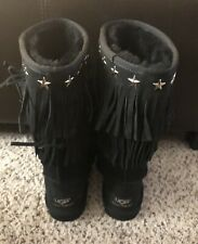 Brand New Jimmy Choo Ugg Australia Size 8 Black