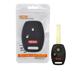 For Honda Accord Civic Odyssey CRV CRZ Pilot Silicone Key Case Remote Fob Cover