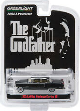 GREENILGHT 44740-B 1/64 THE GODFATHER 1955 CADILLAC FLEETWOOD SERIES 60