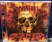 Boondox - South of Hell CD / DVD set insane clown posse twiztid anybody killa