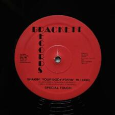 """SPECIAL TOUCH """"Shakin Your Body Poppin Yo Thang"""" BOOGIE FUNK REISSUE 12"""""""