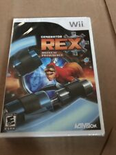 Generator Rex Agent of Providence Wii 2011 Brand New Sealed Free US Ship Nice