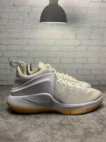 Nike Zoom Witness Lebron White/Platinum Gum Sole (852439-103) Size 9