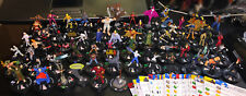Marvel HeroClix Lot of 65 Figures Iron Man Tony Stark Fist Rhino Widow Octopus