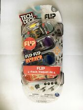BRAND NEW UNOPENED ULTRA RARE 4 PACK TECH DECK FLIP 96MM FINGERBOARDS