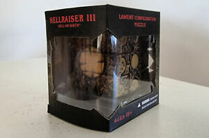 HELLRAISER 3: HELL ON EARTH Lament Configuration Puzzle in Mezco box, as new