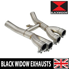 YAMAHA XJR 1200 XJR1200 XJR 1300 XJR1300 SP EXHAUST COLLECTOR BOX STAINLESS