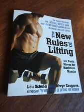 The New Rules of Lifting Six Basic Moves for Maximum Muscle by Lou Schuler Book