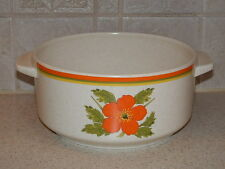 """LENOX CHINA FIRE FLOWER ROUND VEGETABLE BOWL 6 3/4"""""""