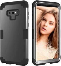 "Samsung Galaxy Note 9 Dual Layer Soft Silicone Hard Back Heavy Duty PC Case 6.4"""