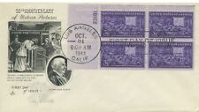 Plate Block-Artcraft FIRST DAY COVER Scott # 926 MOTION PICTURES 1944 LA