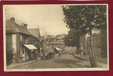 Vintage Postcard.Harrow on the Hill, High Street.Photochrom Co. Ltd No.49374.F6