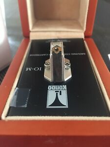 Kondo Audio Note IO-M low output MC cartridge - needs rebuild