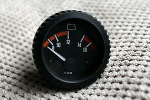 Rare Original Classic VDO Battery Accumulator Voltage Gauge Sensor 33230511
