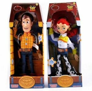 2019 Toy Story 3 Talking Jessie Woody Pvc Action Figures Model Collectible Doll