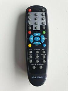 Véritable Alba Tnt Télécommande Pour CDVB4 Set Meilleure Boite Récepteur