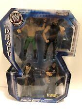 WWE JAKKS Smackdown Draft Vince McMahon The Rock Hulk Hogan Jericho Figure Rare