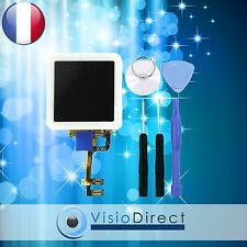 Ecran complet pour iPod Nano 6 blanc vitre tactile + ecran LCD + stickers +outil