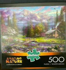 Buffalo Games - Inspirations of Spring - 500 Piece Jigsaw Puzzle