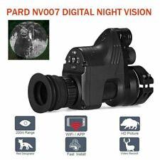 PARD NV007 16mm Night Vision Rifle Scope AddOn 1080p HD Recording 850nm IR Torch