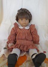 """Vintage Heidi Ott Doll 1982 """"Lucie"""" Switzerland Handmade  17"""""""