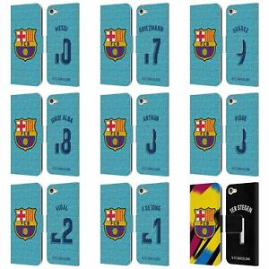 FC BARCELONA 2019/20 PLAYERS THIRD KIT GROUP 1 LEATHER BOOK CASE FOR iPOD TOUCH