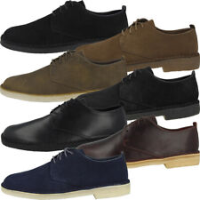 Clarks Desert London Schuhe Men Herren Leder Schnürer Business Halbschuhe Boots