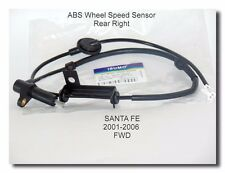 Wheel Speed Sensor Rear Right For Hyundai Santa Fe 2001 2006  2.4L 2.7L 3.5L FWD