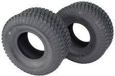 Set of 2 15x6.00-6 4 PLY TURF TIRES FOR LAWN & GARDEN MOWER ***FREE SHIPPING***