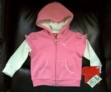 PUMA outwear sweater girl pink  12 month NWT