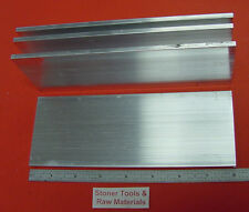 "4 Pieces 3/16"" X 3"" ALUMINUM 6061 FLAT BAR 8"" long New Mill Stock .187"" Plate"