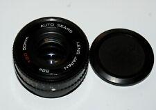Nice Sears 50 mm 2.0 LENS Pentax K Mount Manual Focus Standard Lens SHARP!