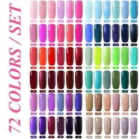 BELLE FILLE Nail Art Gel Polish Soak-off UV Manicure DIY LED Lacquer Varnish 8ml