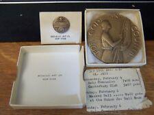 1925 AMERICAN LEGION SCHOOL AWARD for God & Countrry Bronze & Pin