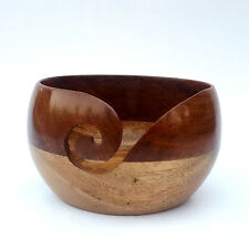 Wooden Yarn Bowl | Knitting Bowl | By Fashoknit |