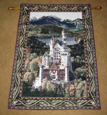 Neuschwanstein Castle Tapestry Wall Hanging