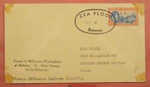 DR WHO BAHAMAS SEA FLOOR POST WILLIAMSON UNDERSEA EXPEDITION 109835