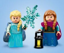 """LEGO DISNEY SERIES 2 MINI FIGURES """"ELSA AND ANNA"""" NEW LIMITED EDITION RETIRED!"""