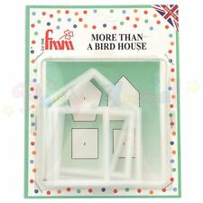 FMM Sugarcraft - More than a birdhouse / shed /house cutter