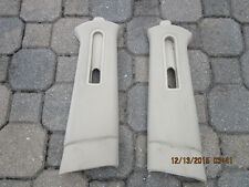 2003-2011 FORD LINCOLN Town Car FRONT UPPER LH/RH SIDE SEAT BELT COVER Parchment