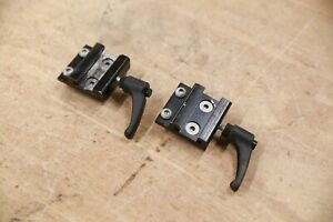 PAIR Permobil Sliding Side Rail Mounts Brackets for Pads & Accessories F3 F5 M3