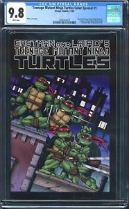 Teenage Mutant Ninja Turtles Special #1 CGC 9.8 1st Color Printing Turtles 2009