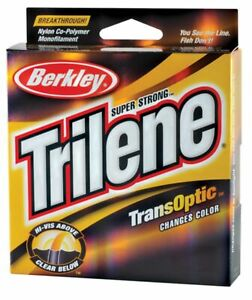 Berkley Trilene TransOptic  Fishing Line, Gold Color, Choice of  Sizes