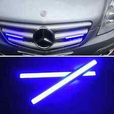 2 Pcs 12V Blue light Waterproof COB LED Daytime Running Lights Fog Lamp For Benz