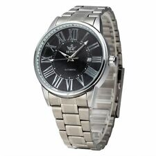 Mechanical (Automatic) Adult Unbranded Silver Strap Watches