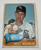 1965 Topps # 276 Hoyt Wilhelm Baseball Card Chicago White Sox HOF